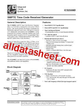 integrated circuits datasheet pdf ics2008b datasheet pdf integrated circuit systems