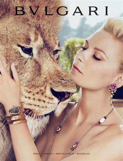 Kirsten Dunst Is A Lovely Creature by Bvlgari S S 2012 Kirsten Dunst By Mert And Oh