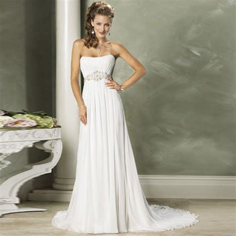 Newest Designer Chiffon Beach Wedding Dresses from China manufacturer   George Bride Wedding