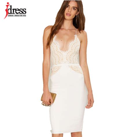 30580 Lace Dress White idress black white club factory patchwork lace dress evening bodycon summer dress