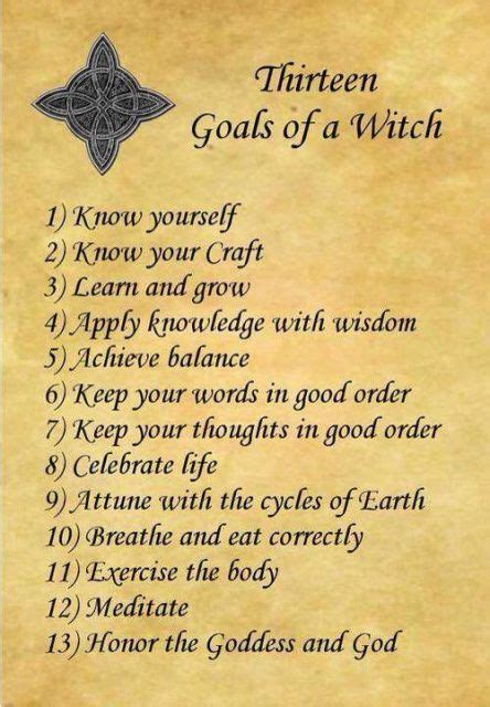 libro of love and shadows 13 goals of the witch google search magick witches witchcraft history and magick
