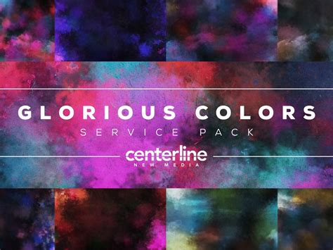 glorious color glorious colors service pack centerline new media