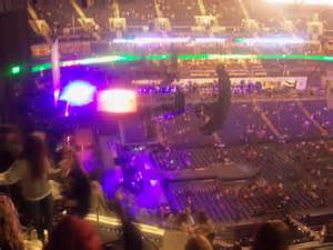 Time warner cable arena section 211 row n seat 15 justin bieber vs