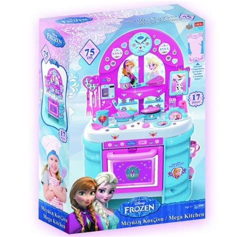 frozen mega kitchen set cxc toys baby stores