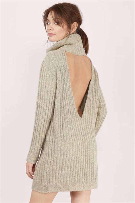 Dress Of The Day Gap Cowl Neck Sweater Dress by Taupe Day Dress Taupe Dress Cowl Neck Dress Day