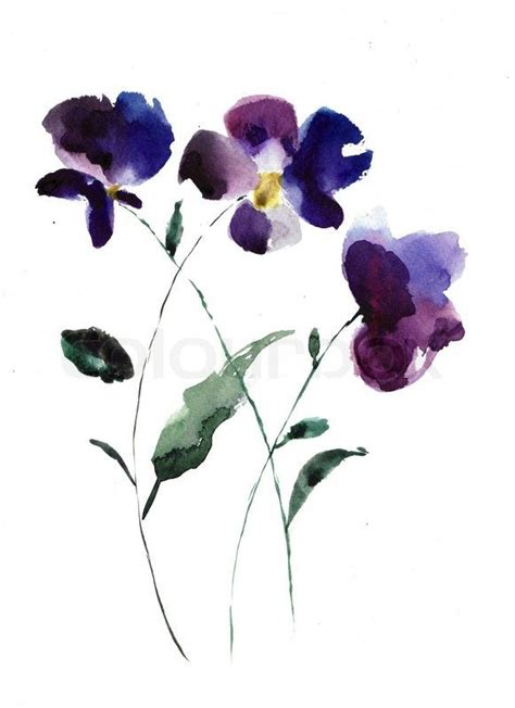 violet flower tattoo 57 best violets images on violet