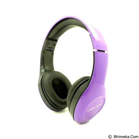 Headset Bando Log On Intone Lo Nb 680 jual headphone portable log on intone stereo headphones