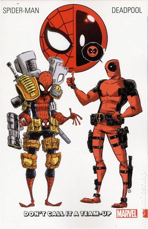 spider deadpool vol 2 side pieces spider deadpool tpb 2016 marvel comic books