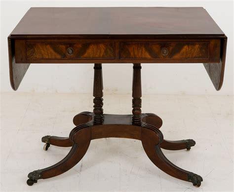 antique sofa tables regency mahogany sofa table antiques atlas