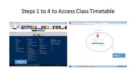 1 hour 2018 a visual step by step guide to building websites in one hour or less books steps on how to access univen class timetable