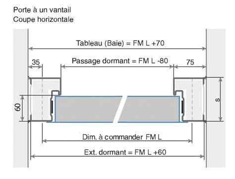 ninz porte porte 1 vantail r 233 versible ral 91 gamme proget