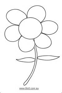 flower template printable 0to5 template flower dayschool science