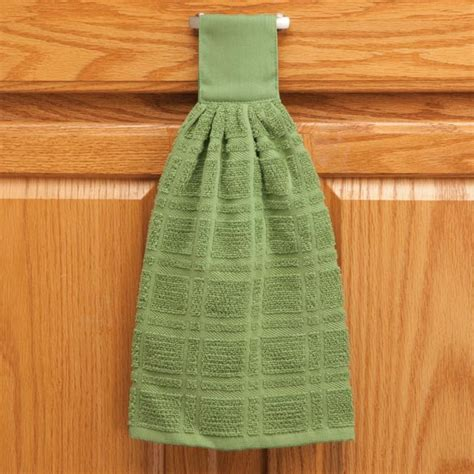 Hanging Kitchen Towels by Cotton Hanging Towels Solid Cotton Towels Dish Towels