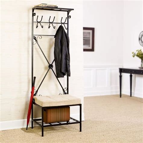 Entryway Rack | entryway storage with baskets simple home decoration