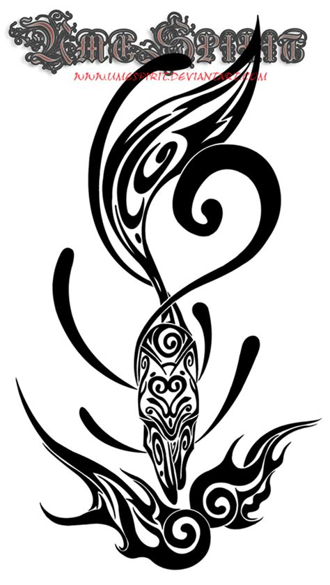 kitsune tribal tattoo by umespirit on deviantart
