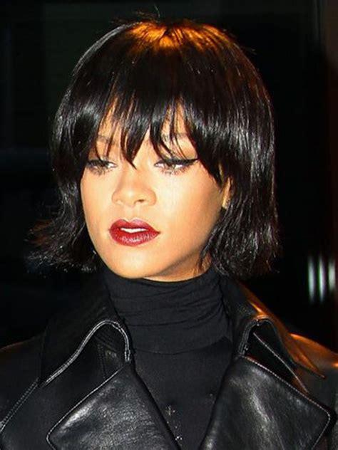 Rihanna Bob Hairstyle by 20 Stylish Rihanna Bob Haircuts Hairstyles