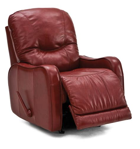 Traditional Leather Recliner by Palliser Yates Traditional Leather Recliner