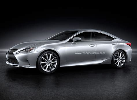 used lexus coupe lexus rc four door coupe rendering photo gallery autoblog