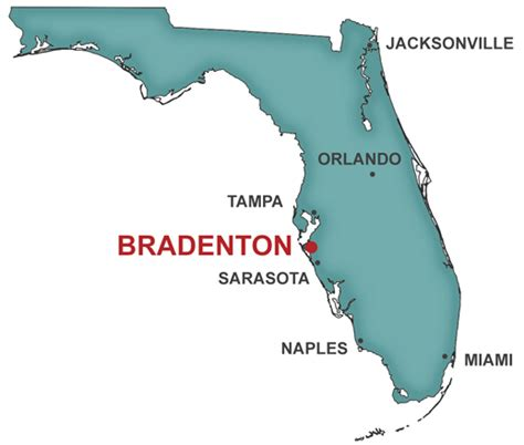 where is sarasota florida located on the map parking realize bradenton
