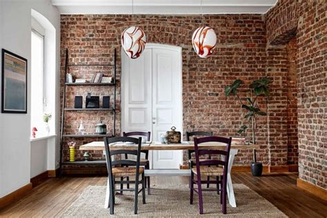 Brick Wall Dining Room by 16 Charming Dining Rooms With Exposed Brick Wall