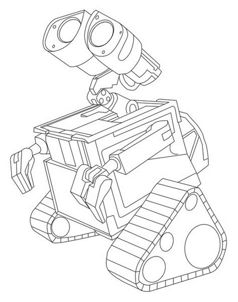 Wall E Coloring Pages by Disney Wall E Printable Coloring Shet 12 Wall E
