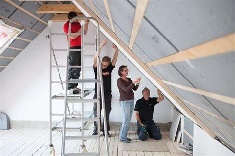 dachschräge isolieren innen w 228 rmed 228 mmung isolierung f 252 r dach und dachboden
