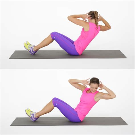 seated russian twist ab challenge popsugar fitness photo 3