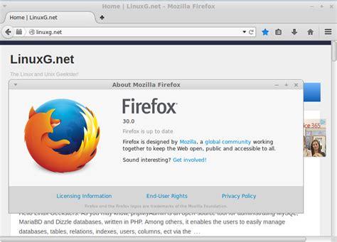 Firefox 30 Stable Has Been Released + Installation ... Install Firefox On Debian 9