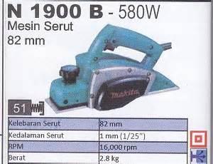 Bor Duduk Merk Makita makita n1900b 580w mesin serut products of mesin