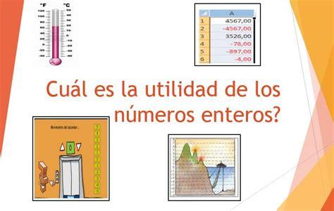 la utilidad de lo 8415689926 utilidad de los n 250 meros enteros los numeros enteros z
