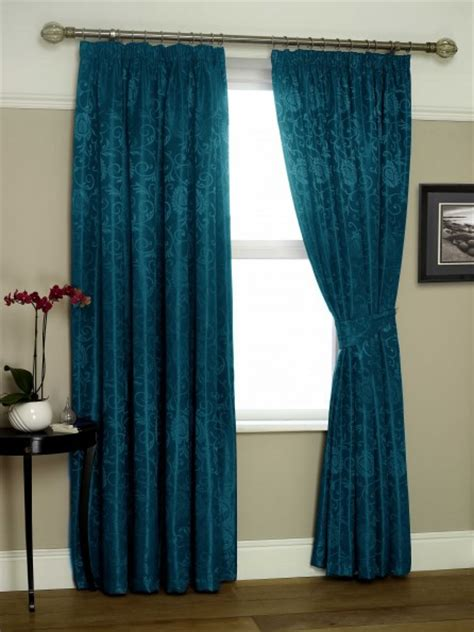 ready made teal curtains eton jacquard ready made lined curtains teal