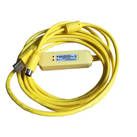 neu plc programming usb sc09 fx kabel f 252 r mitsubishi fx0s fx1s fx0n fx1n fx2n ebay