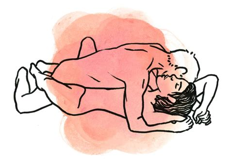 Sex positions for large people