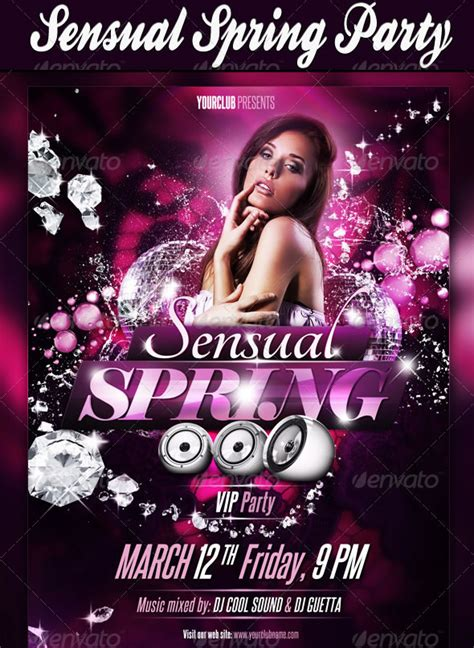 house party flyers design cool spring summer break party flyers entheos