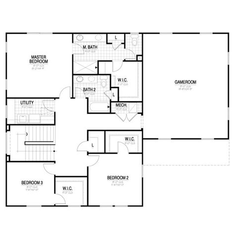 166 best ivory homes floor plans images on