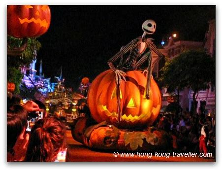 disneyland hong kong halloweenboo!