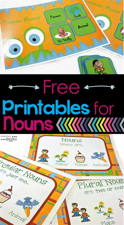 printable games for plurals nouns can be fun with simple activities