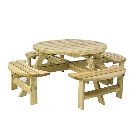 circular picnic benches picnic bench edusentials