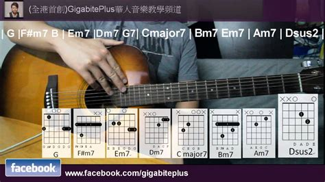 tutorial guitar officially missing you 木結他必學歌曲 officially missing you keith sir 推介 youtube