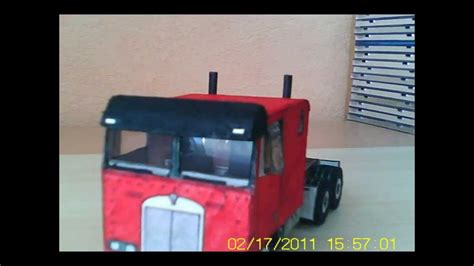 How To Make Paper Vehicles - paper truck model