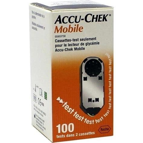 Accu Mobil Ss accu chek mobile testkassette plasma ii 100 st besamex de