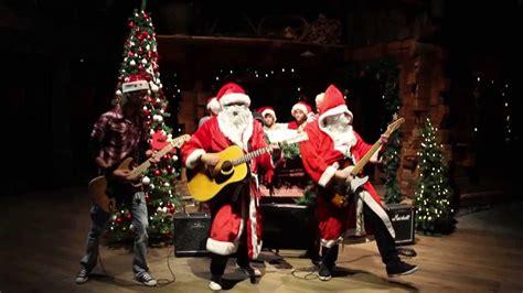 merry christmas  rockband china santa clause    town youtube