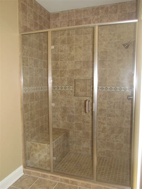 cool bathroom showers bathroom cool tiled showers with shower bench and shower
