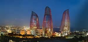 Hok Interior Design Baku Flame Towers Hok Arch2o Com