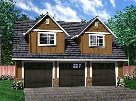 Three Car Garage With Apartment Plans | detached garages