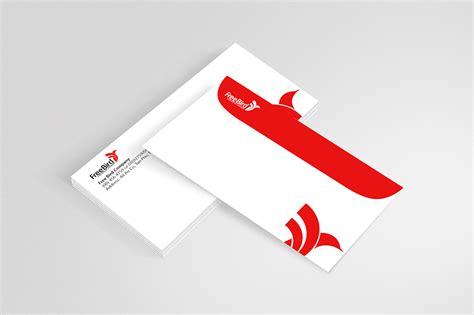 download envelope branding mockup free psd at