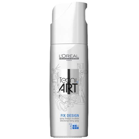 Loreal Proffesionel Tec Ni Fix Max Gel Rambut 200ml l or 233 al professionnel tecni fix design spray 200ml