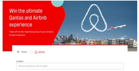 airbnb qantas points qantas and airbnb new deal rewards qantas frequent flyer