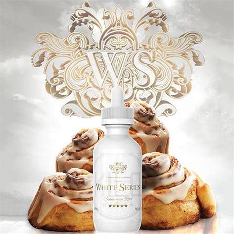 Lovarian Series Premium Liquid Vape Vapor Tobacco Cinamon kilo eliquids white series cinnamon roll
