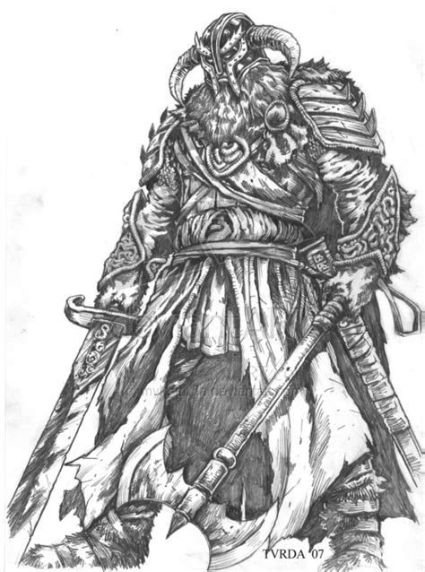 mythologie nordique 20 dieux et d 233 esses coloriages 224